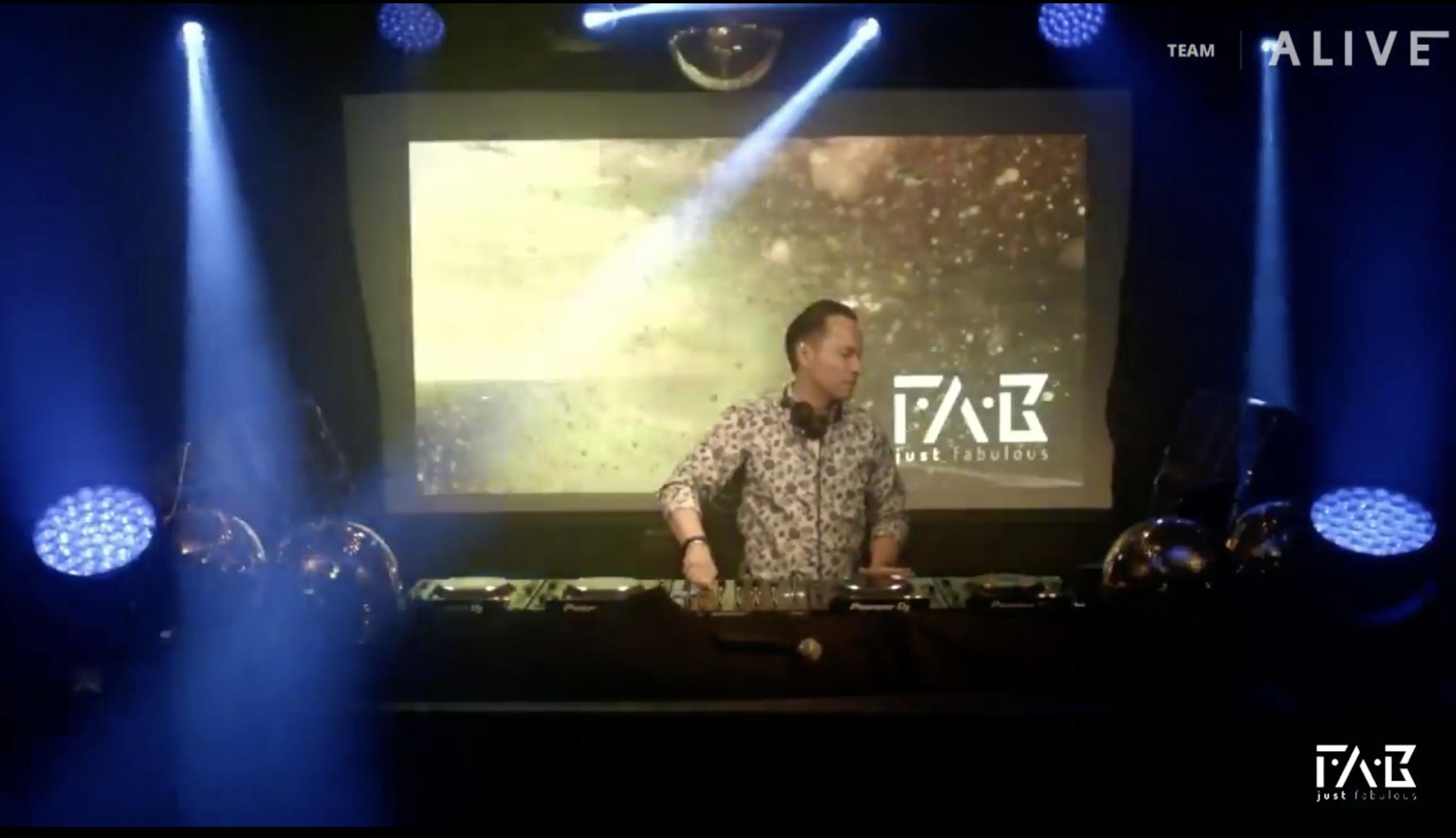 DJ FAB Livestream Team ALIVE